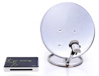2013 new 1080p Skybox Satellite Receiver WIFI Mini Google Android4.0 Smart TV Box free shipping