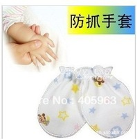 Free Shipping Baby Anti Catch Gloves New Born Gloves gift dropship
