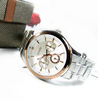 2013 new Luxury stainless steel belt elegant commercial lovers watch male women's table sinobi fashion