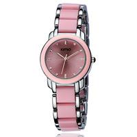 2013 new Ladies watch vintage women's watch ceramic watch female white fashion bracelet watch