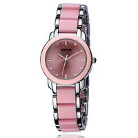 2013 new Ladies watch vintage women's watch ceramic watch female white fashion bracelet watch