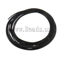 Free shipping!!!Aluminum Wire,2013 Jewelry, electrophoresis, black, 1.5mm, Length:prox 50 m, 10PCs/Ba Sold By Bag
