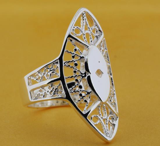 R208 размер : 6,7, 8,9 бесплатная доставка посеребренная кольцо, Посеребренные мода ювелирных изделий кольцо мода кольцо куплю подшипник 6 208 б1