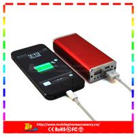 7000mah high capacity portable li-polymer mobile power bank