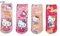 New Fall And Winter Children Warm Socks  Cartoon Socks Pattern Size 18 cm  Send Random Color Mixing