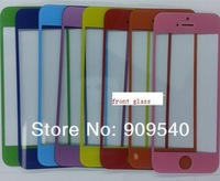 30pcs colorful  Repair  LCD GLASS SCREEN/LENS REPLACEMENT for iPhone 5 front  glass Lens+ free shipping
