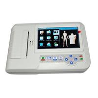 ECG600G 6-Channel 12-Lead Digital Cardiology EKGECG Machine