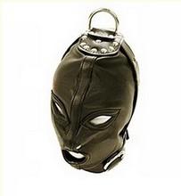 1 pcs  leather mask headgear - free shipping(China (Mainland))