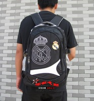 Best quality Real Madrid embroidery soccer bags,football soccer backpack,outdoor sports bag, soccer fans souvenir bag