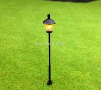 LYM07 Model Railway Led Lamppost Lamps Street Lights HO Scale 5cm 12V New