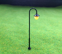 LYM12 Model Railway Led Lamppost Lamps Street Lights HO Scale 55mm 12V New
