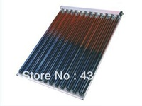 solar water collector  with U type copper tube