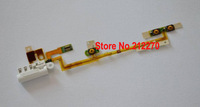 30pcs/lot Original New Volumn Off/Power Audio Jack Flex Cable For iPod Nano 6 6th Gen White Repair Parts Wholesale