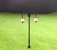 LYM18 Model Railway Led Lamppost Lamps Street Lights HO Scale 6cm 12V New