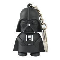 Free Shipping Star War Dark Darth Vader USB Flash Drive  8GB 16GB 32GB Memory stick Pen Drive