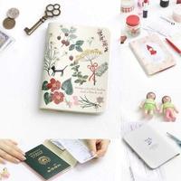 Fresh shinzikatoh travel passport holder passport cover passport bag