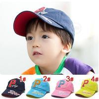 Summer 2013  letter 100% cotton baseball cap sun hat sunbonnet child cap child casual cap