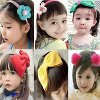 Child hair accessory hair accessory child female child baby hair bands brief bow headband hairpin hair pin