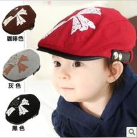 Child beret baby beret baby cap classic applique baby beret hat
