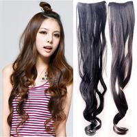 Hydrowave natural roll wig piece piece hair roll wig piece