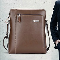 Free Shpping 2013 newes style classic Briefcase Hight quality PU leather messenger bag business bag Factory price