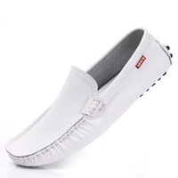 Sneakers for Men Moccasins Genuine Leather Casual Mens Loafers Driving Shoes