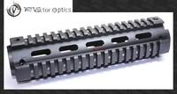 Vector Optics Tactical Mid Length 2-Piece RIS Handguard Picatinny Quad Rail Mount 8.5'' fit AR-15 M4 M16