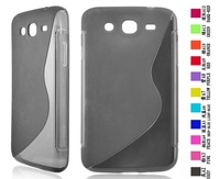 For Samsung Galaxy Mega 5.8 i9150 TPU Gel S line cover with many colors available by DHL/UPS/FEDEX shipping