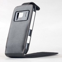 Brand New Black PU Leather Flip Case Pouch For Nokia N8 With Magnetic