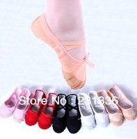 Sales promotion !! Comfortable dancing shoes Ballet shoes  Women and girls toe shoesize 25-39 Free shipping