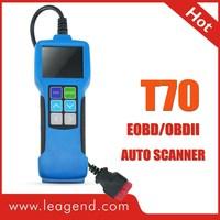 All OBDII/EOBD/JOBD Highend Diagnostic Color-Screen Auto Scanner Tool T70