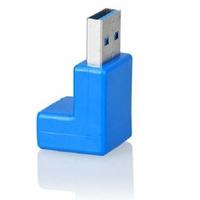 Free shipping 1pcs Hight quality usb3.0 orthogonal male to female adapter