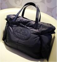 2012 women's handbag space shoulder bag large bf cotton-padded jacket bags cotton bag