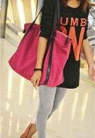 2012 autumn and winter women's handbag fashion high quality nubuck leather women's handbag fashion big bags large travel bag