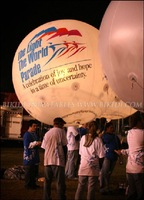 Inflatable helium balloon, flying balloon K7036