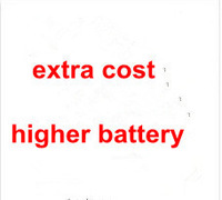 extra fee for 6cell hihger power battery