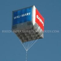 Helium cube balloon, sky balloon K7021