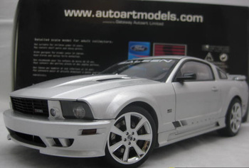 DIE CAST MODEL,1:18 AUTOART,FORD SALEEN MUSTANG S281,SILVER