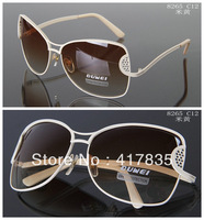 FREE SHIPPING 2013 New best-selling women Fashion Sunglasses / sunglasses fashion Lady lace resin gradient sunglasses