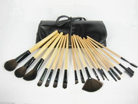 2013 hot 18 pcs pro Goat hair makeup brushes,makeup tools BB makeup freeshipping