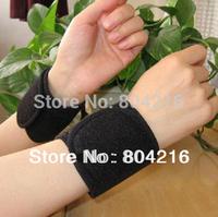 1Pair Far Infrared Tourmaline auto Heat Wristlet Wrist