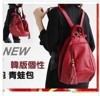 Women's Handbag Fashion Trend of Korean Style of Personality Frog Backpack Satchel Handbag 201306WB059