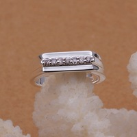 Free Shipping!! Hot  Wholesale Brand New Fashion 925 Sterling Silver BIANPING Ring CR42 Size 8