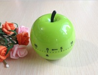 Free shipping Lovely Vegetables Fruit shape Timer Kitchen chef Count Down Timer 60 minutes