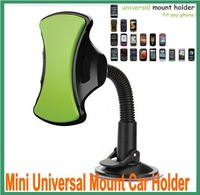 Stand Mini Universal Mount Car Holder for iPhone 5 / iPhone 4,4S / iPad Mini /Samsung Galaxy Note2 N7100,S3 i9300/HTC/Nokia