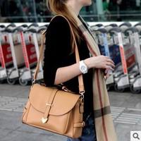 New Style Korean female Postman retro shoulder bag Messenger bag candy colored handbags 201306WB073