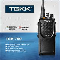 handheld ham radio range, TGK-790 handheld ham radio