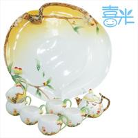 Monkey tea set porcelain enamel tea set ceramic kung fu tea set teaberries