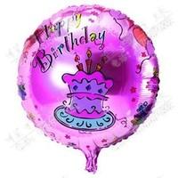 Free Shipping 45cm aluminum balloon aluminum foil balloon birthday cartoon series toy