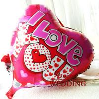 Free Shipping Married balloon 18 aluminum balloon aluminum foil balloon you